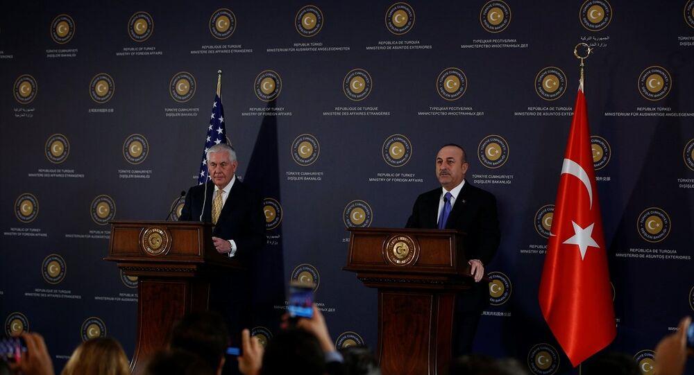 Mevlüt Çavuşoğlu - Rex Tillerson