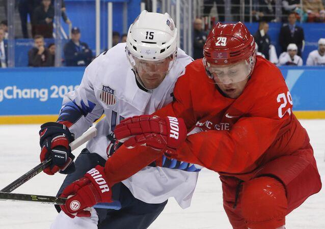Abd-Rusya Erkekler Buz Hokeyi karşılaşması