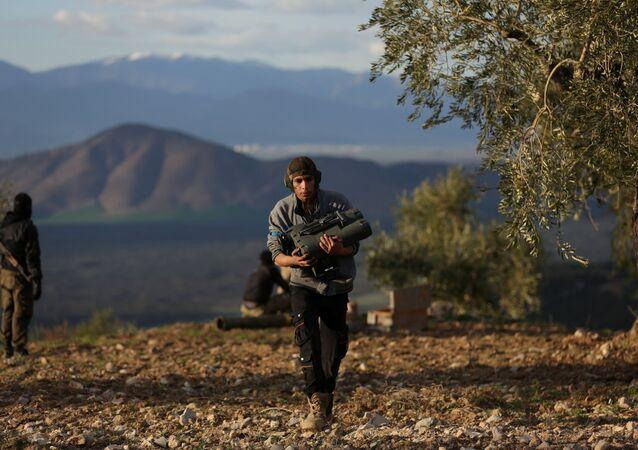 Türkiye destekli ÖSO güçleri-Afrin