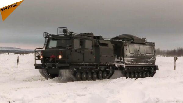 Rusya'da yeni çok amaçlı arazi araçları test edildi - Sputnik Türkiye