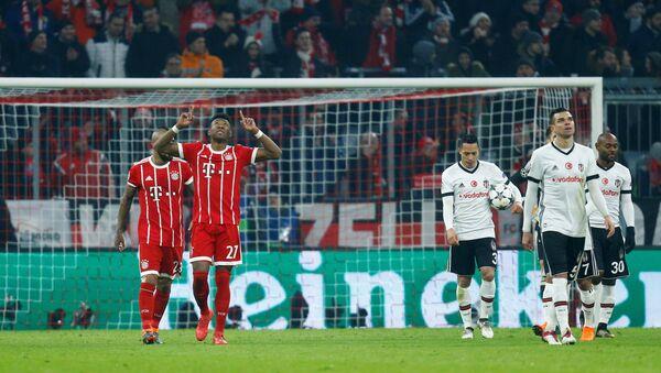 Beşiktaş Bayern Münih karşısında 5-0 mağlup oldu - Sputnik Türkiye