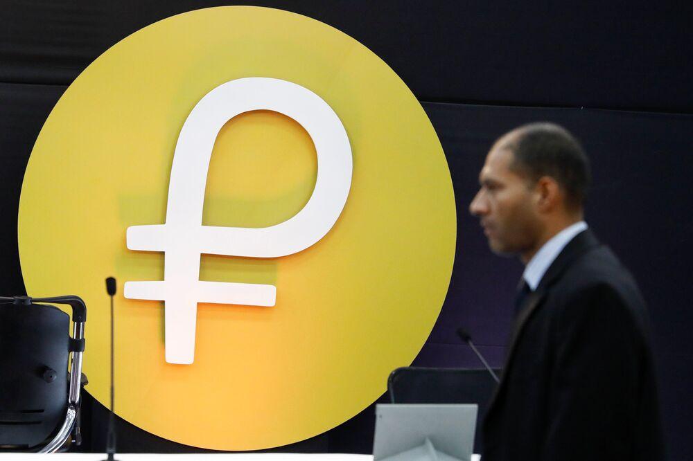 ABD Hazine Bakanlığı ise Amerikalı potansiyel alıcılara yeni para birimine yapılan yatırımların Venezüella'dan borç satın alınmaması konusunda ABD bankalarına getirilen yasağın delinmesi anlamına geleceği uyarısında bulunmuştu.