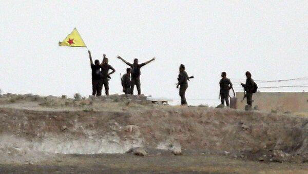Haziran 2015 Akçakale Tel Abyad YPG - Sputnik Türkiye
