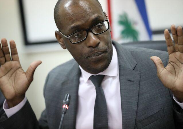 Haiti Planlama ve Uluslararası İş Birliği Bakanı Aviol Fleurant