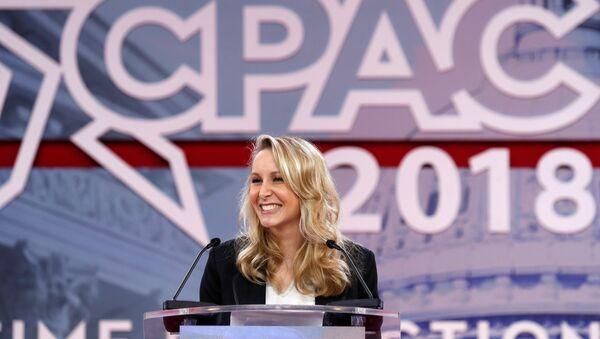 Marion Marechal-Le Pen Conservative Political Action Conference (CPAC) ABD Maryland - Sputnik Türkiye