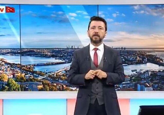 Akit TV sunucusu Ahmet Keser