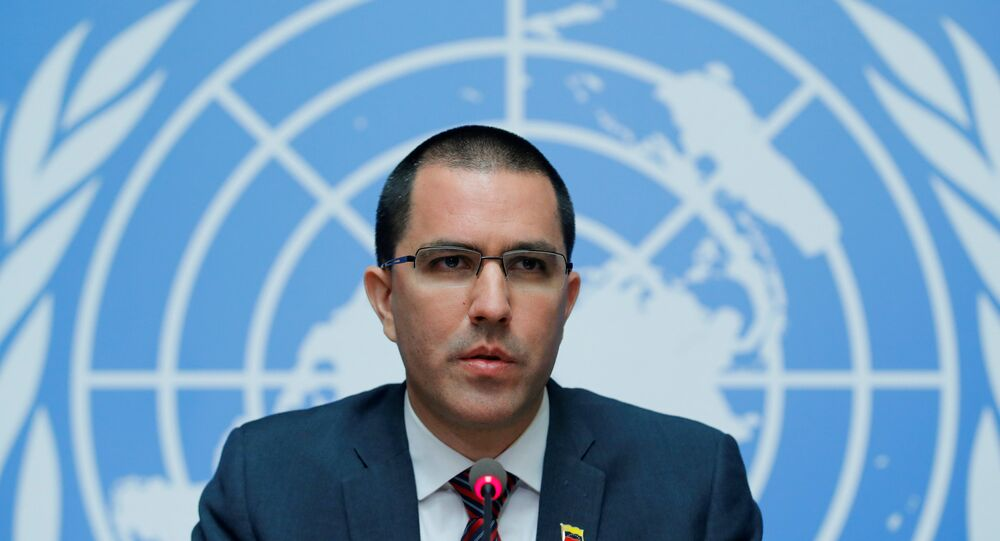 Venezüella Dışişleri Bakanı Jorge Arreaza Montserrat