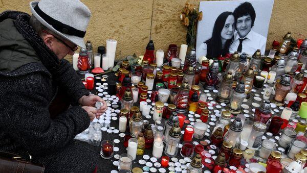 Öldürülen Slovak gazeteci Jan Kuciak - Sputnik Türkiye