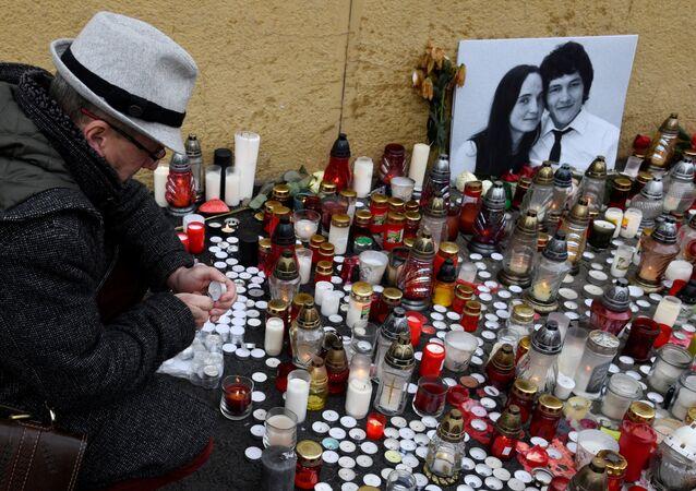 Öldürülen Slovak gazeteci Jan Kuciak
