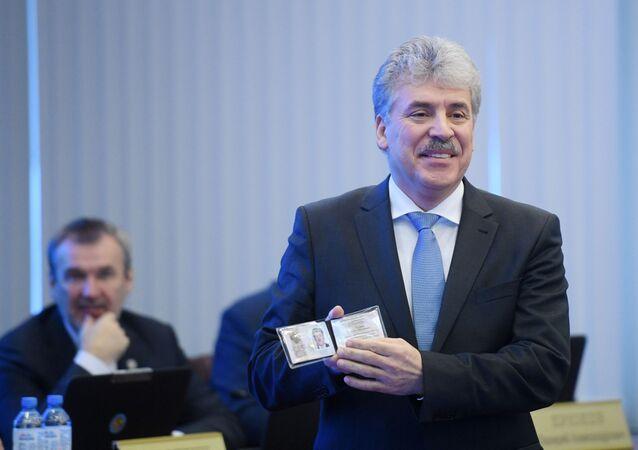 Pavel Grudinin