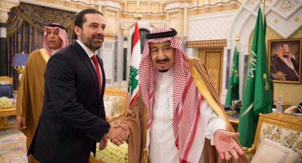 Suudi Arabistan Kralı Selman bin Abdulaziz- Lübnan Başbakanı Saad Hariri