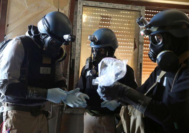 Birleşmiş Milletler'e (BM) bağlı Kimyasal Silahların Yasaklanması Örgütü, Suriye hükümetinin kimyasal silah stoklarını yok etti. 2013