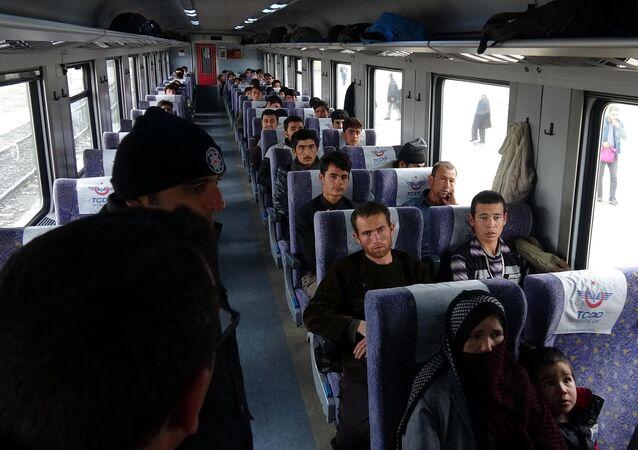 Doğu Ekspresi'nde 48 göçmen yakalandı
