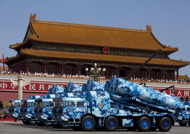 Çin'in DF-10 kruz füzeleri