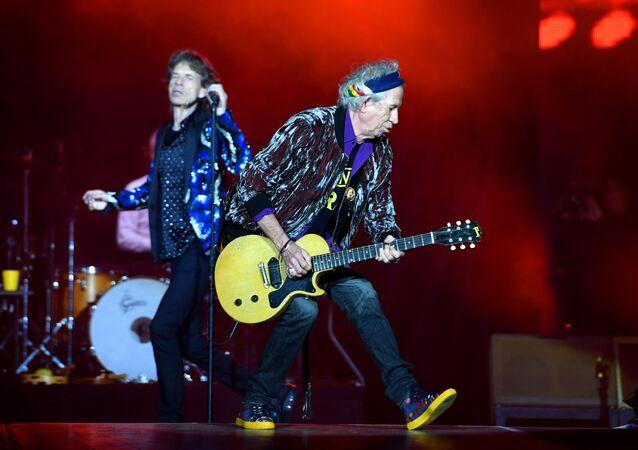 Rolling Stones Mick Jagger Keith Richards Stones - No Filter turu Esprit arena Düsseldorf 2017