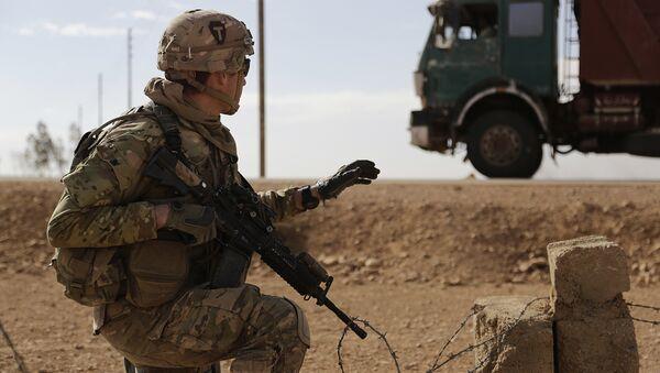 Irak- ABD askeri - Sputnik Türkiye