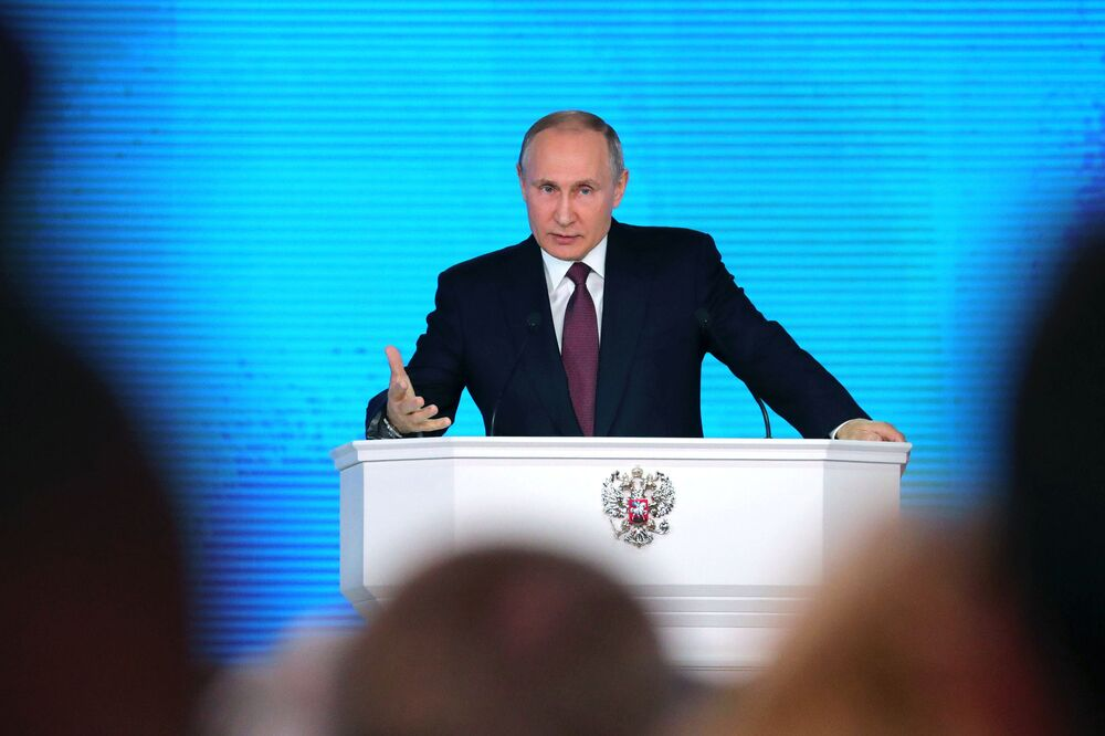 Rusya devlet başkanı adayı Vladimir Putin