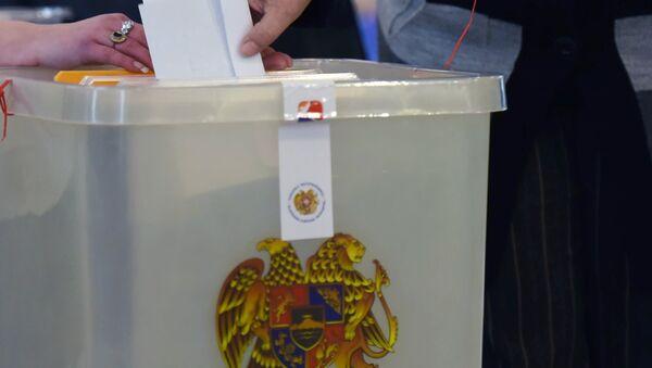 Ermenistan'da devlet başkanlığı seçimi - Sputnik Türkiye