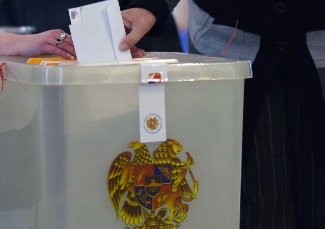 Ermenistan'da devlet başkanlığı seçimi