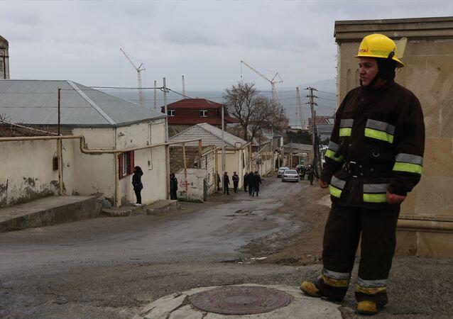 Azerbaycan, yangın
