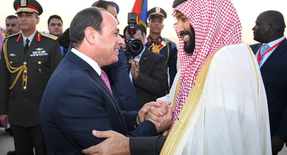 Mısır Cumhurbaşkanı Abdülfettah Sisi- Suudi Veliaht Prens Muhammed bin Selman