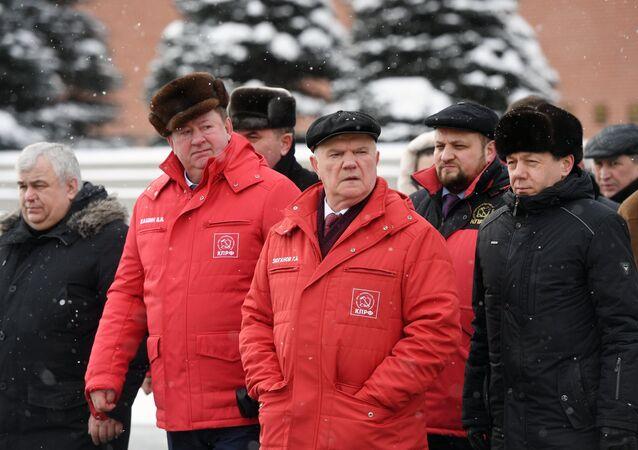 Rusya Komünist Partisi lideri Gennadiy Zyuganov