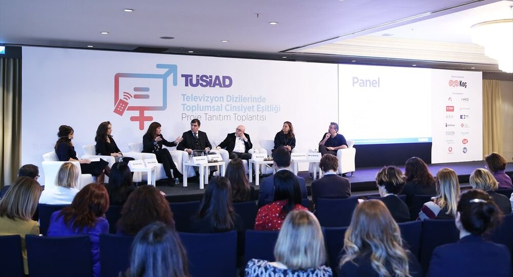 'Televizyon Dizilerinde Toplumsal Cinsiyet Eşitliği Projesi'