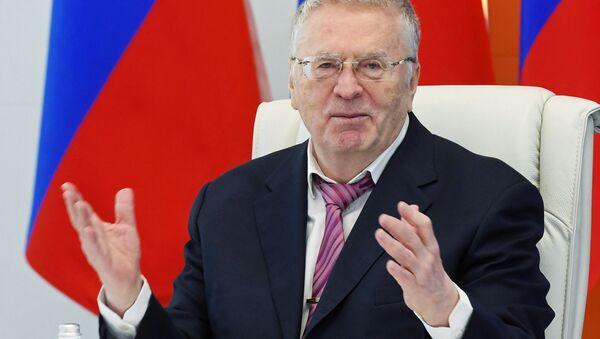 2018 Rusya Devlet Başkanlığı seçimlerinde aday Vladimir Jirinovski - Sputnik Türkiye