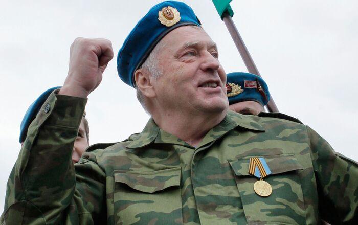 2018 Rusya Devlet Başkanlığı seçimlerinde aday Vladimir Jirinovski