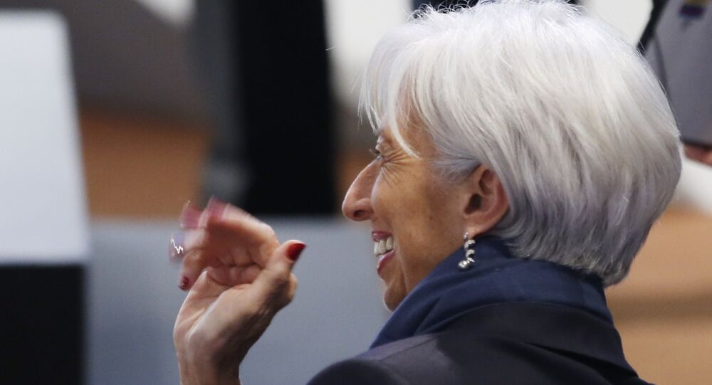 Uluslararası Para Fonu (IMF) Başkanı Christine Lagarde