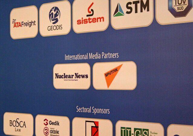 Medya partnerliğini Sputnik'in üstlendiği Uluslararası Nükleer Santraller Zirvesi ve Fuarı'ndan görüntüler.