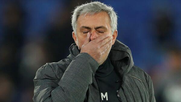 Manchester United menajeri Jose Mourinho, Premier Lig, Crystal Palace v Manchester United, Selhurst Park, Londra, 5 Mart 2018 - Sputnik Türkiye