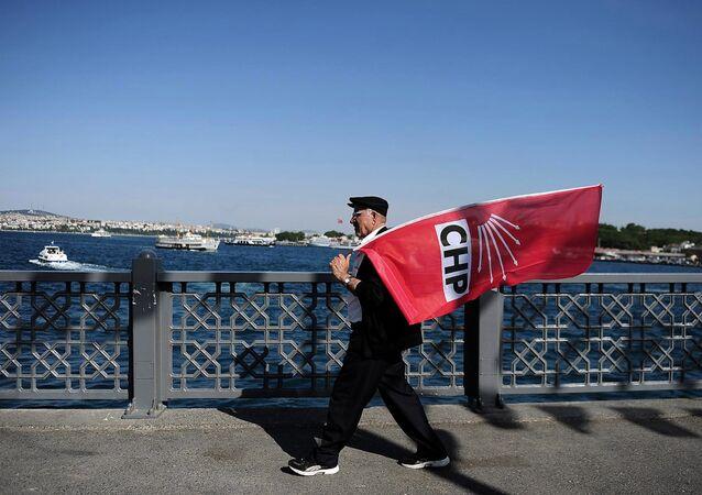 CHP mitingi İstanbul Eminönü 4 Haziran 2015