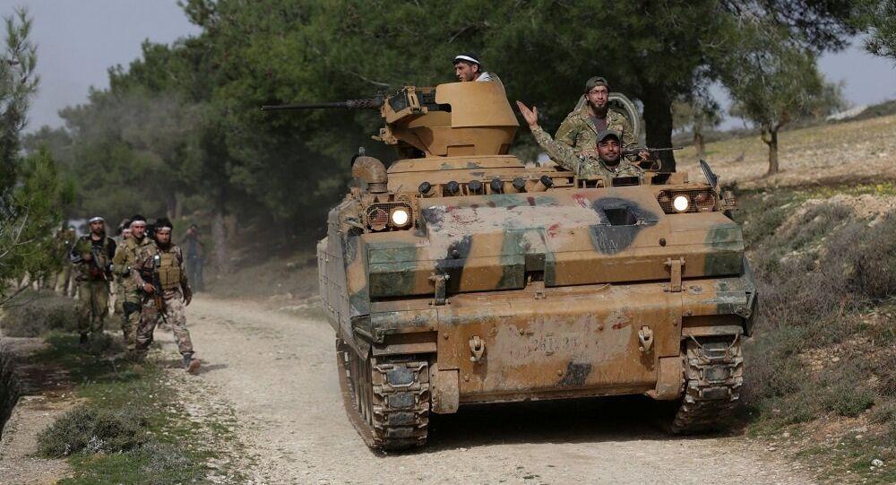 Afrin - Zeytin Dalı Harekatı - ÖSO - TSK