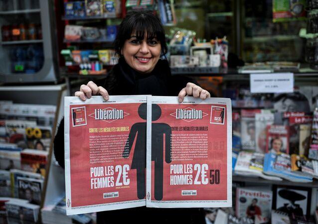 Liberation gazetesinin 8 Mart Dünya Kadınlar Günü özel sayısı