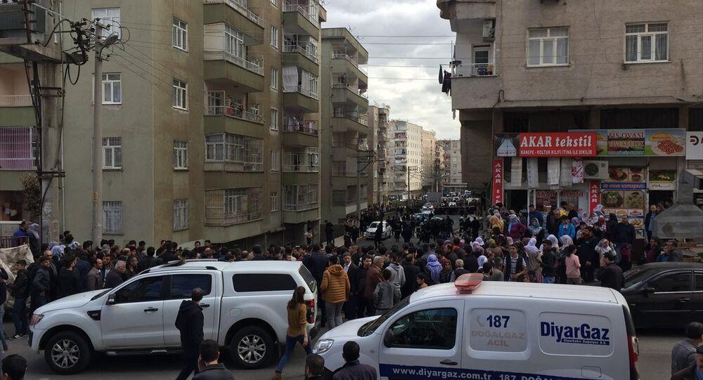 Diyarbakır, balon imalatı yapılan iş yerinde patlama