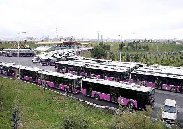 Erguvan, İETT, otobüs