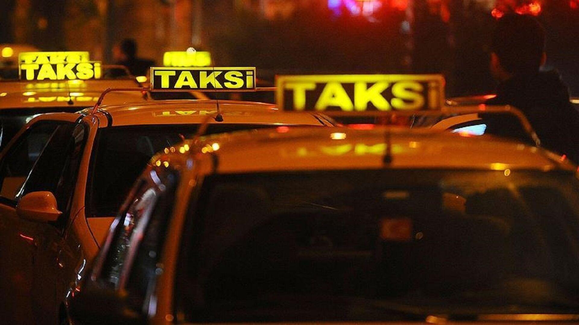 Taksi - Sputnik Türkiye, 1920, 23.07.2021
