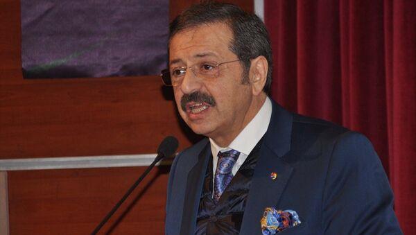 Türkiye Odalar ve Borsalar Birliği (TOBB) Başkanı Rifat Hisarcıklıoğlu - Sputnik Türkiye