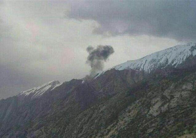 İran'da düşen Türk jetinin kara kutusu bulundu