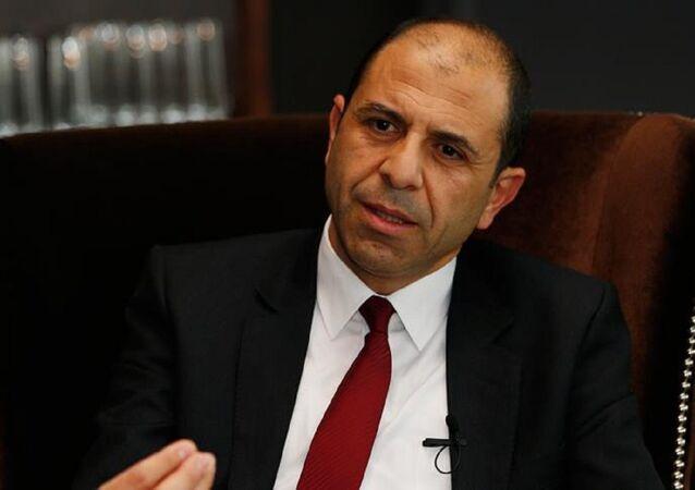 Kuzey Kıbrıs Dışişleri Bakanı Kudret Özersay