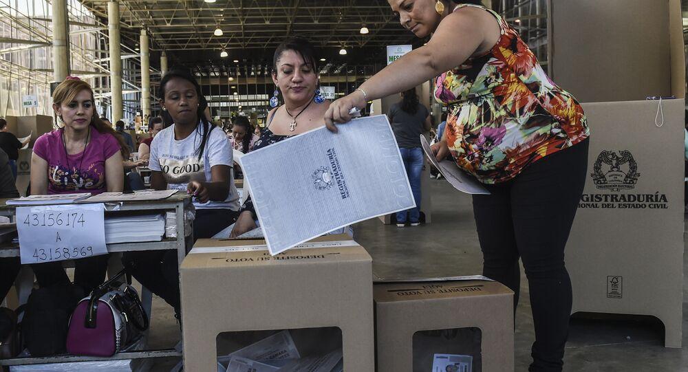 Kolombiya-Seçimler
