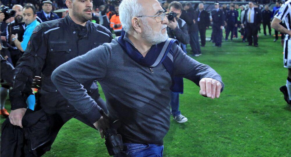 PAOK Başkanı Ivan Savvides