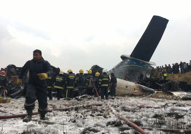 Nepal-Uçak kazası