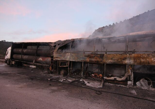Çorum'da otobüs kazası: 6 ölü, 19 yaralı