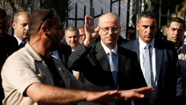 Filistin Başbakanı Rami Hamdallah - Sputnik Türkiye