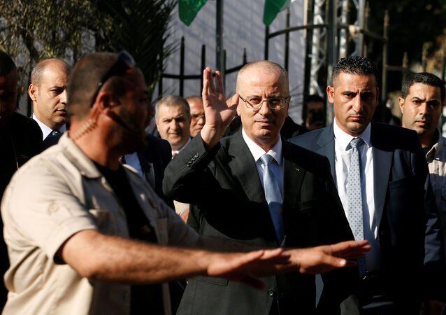 Filistin Başbakanı Rami Hamdallah
