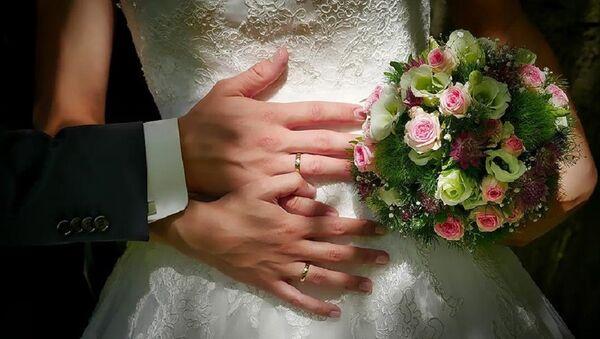 gelin, evlilik, nikah - Sputnik Türkiye
