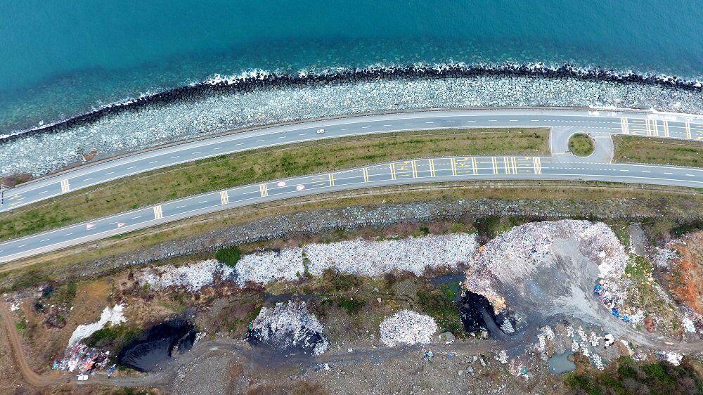 Karadeniz sahil yolu