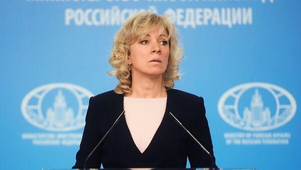 Rusya Dışişleri Bakanlığı Sözcüsü Mariya Zaharova - Sputnik Türkiye